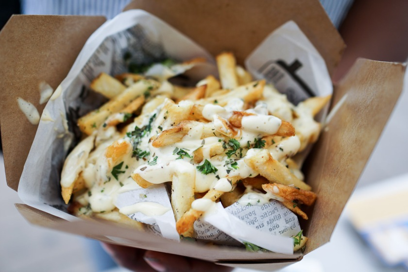 Duck Fat Garlic Fries from Northlands Truck 1879